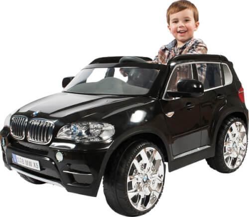 Rollplay BMW X5, 12V, RC, black