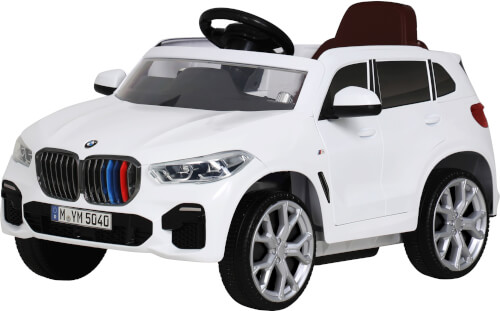 Rollplay BMW X5M, 6V, RC, white