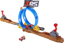 Mattel FYN85 Cars XRS Crash-Looping Spielset