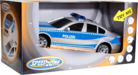 Speedzone Polizeifahrzeug Licht und Sound, 1:18