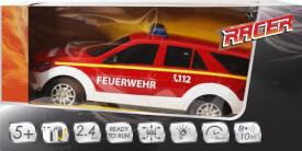 Racer R/C Feuerwehrwagen, 2.4 GHZ, 1:18, Ferngesteuertes Fahrzeug, ca. 32,2x17,3x15,7 cm, ab 5 Jahren