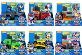 Spin Master Paw Patrol Themed Basic Vehicles Mission