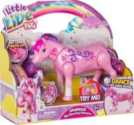 Little Live Pets - Funkeltanz Die Einhorn - Farbe Pink, Kunststoff, ab 3 Monate - 8 Jahre