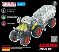 RCEE tronico Mini Claas Arion 430 mit  Anhänger