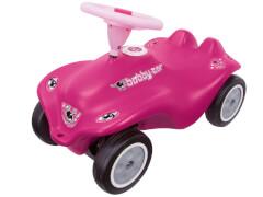 BIG New Bobby-Car ''Rockstar Girl'', Kunststoff, bis 50 kg, ca. 57x30x39 cm, pink, ab 12 Monate