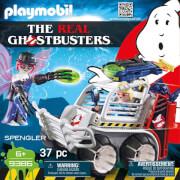 Playmobil 9386 Spengler mit Käfigfahrzeug
