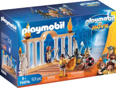 Playmobil 70076 Playmobil: THE MOVIE Kaiser Maximus im Colosseum