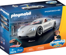 PLAYMOBIL 70078 PLAYMOBIL: THE MOVIE Rex Dasher's Porsche Mission E
