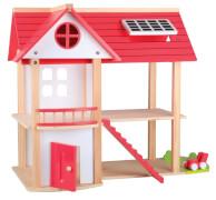 Beeboo Puppenhaus Eco Villa, unmöbliert