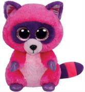 TY Roxie - Waschbär pink/lila, 15cm