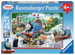Ravensburger 090433  Puzzle Thomas und seine Freunde 2 x 24 Teile
