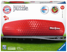 Ravensburger 12526 Puzzle 3D Allianz Arena 216 Teile