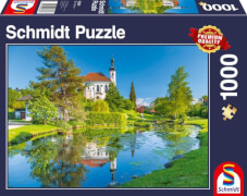Schmidt Spiele Puzzle Breitbrunn Chiemgau 1.000 Teile