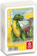 ASS TOP ASS Dinosaurier. Kartenspiel