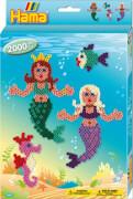 HAMA Bügelperlen Midi - kleine Geschenkpackung sortiert 2000 Perlen