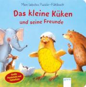Arena Mein liebstes Puzzle-Fühlbuch - Das kleine Küken und seine Freunde