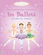 Im Ballett Anziehpuppen Stickerbuch