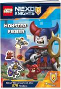 LEGO® Nexo Knights - Monsterfieber, mit 270 Stickern, Stickerbuch, 16 Seiten, ab 8 Jahren