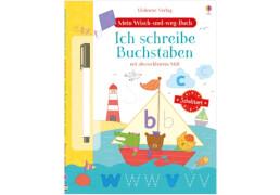 Wisch-und-weg: Ich schreibe Buchstaben