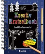 Kreativ-Kratzelbuch: Im Märchenwald