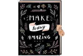 Tagebuch - Handlettering - Make today amazing