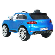 Rollplay Porsche Macan, 12V, RC, blue