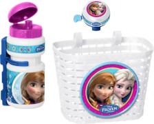 Disney Frozen - Die Eiskönigin Korb-, Trinkflasche-, Klingel - Set