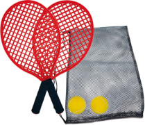 Beachtennis Set (2 Schläger, 2 Softbälle)