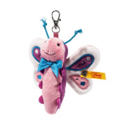 Steiff Anhänger Schmetterling, rosa, 8 cm